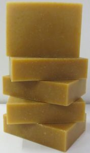 goats milk honey soap stack