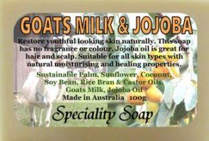goats milk jojoba