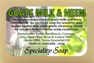 goats milk neem