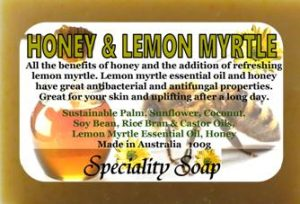 Honey Lemon Myrtle Soap