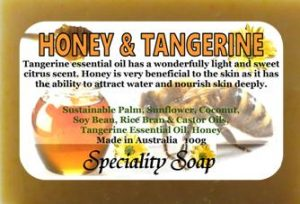Honey Tangerine Soap