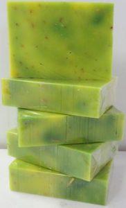 lemongrass soap stack