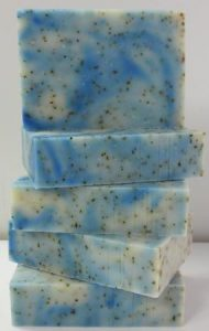 Peppermint Soap Stack