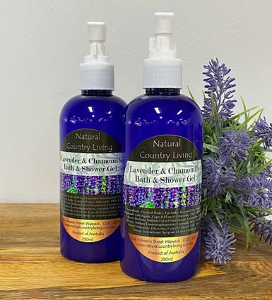 lavender bath shower gel