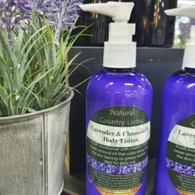lavender chamomile body lotion