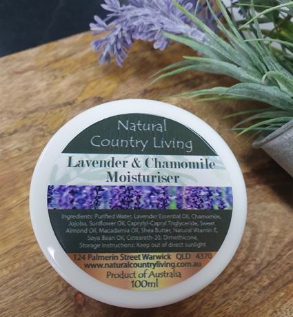 lavender chamomile moisturiser