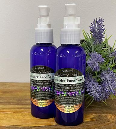 lavender face wash