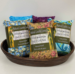 wheat lavender hot cold pack